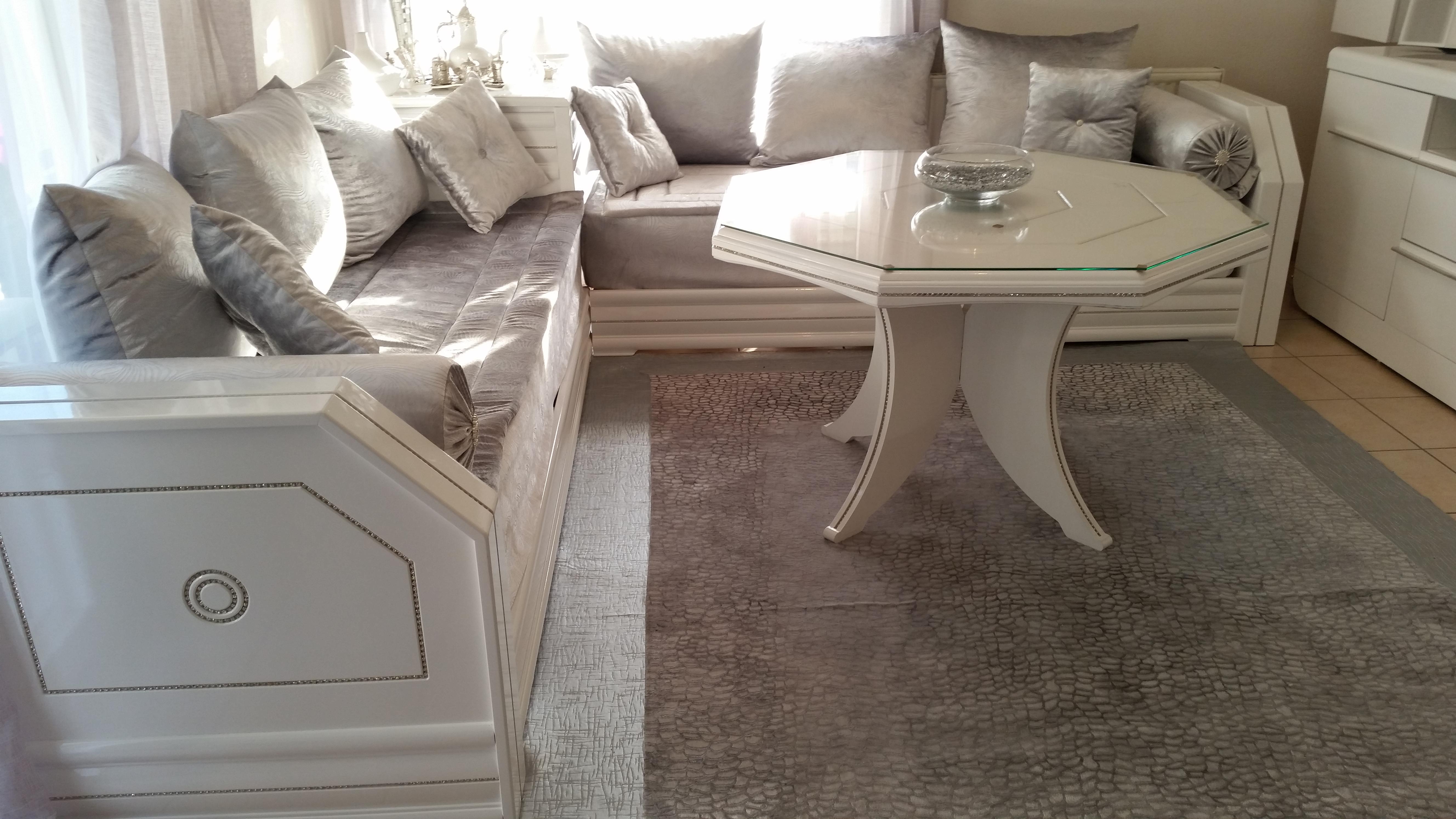 Salon oriental blanc beautiful salon oriental blanc - Salon oriental blanc ...